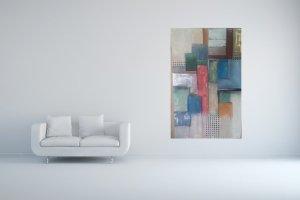 Abstrakte Acrylbilder