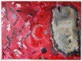 Gemälde Babaturk von kooZal - Acrylbilder und Collagen Mischtechniken