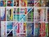 Gemälde Reflex von kooZal - Acrylbilder und Collagen Mischtechniken