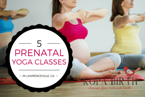 Prenatal Yoga Lawrenceville GA