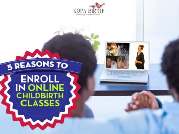 5 reasons to enroll in online childbirth classes