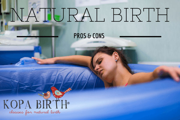 NATURAL BIRTH PROS AND CONS