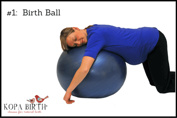 Natural birth accessories birth ball