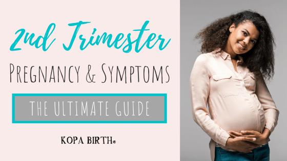 Second Trimester Pregnancy & Symptoms - image