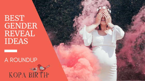 The Best Gender Reveal Ideas - A Roundup