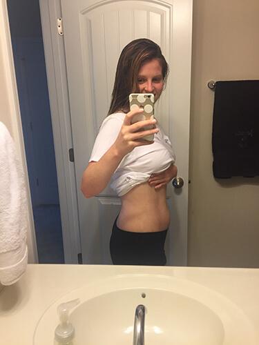 Week 7 Pregnancy Baby Belly