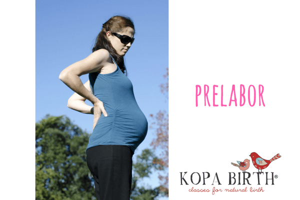 What are the three stages of labor - prelabor