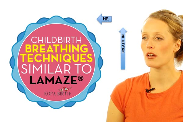 childbirth breathing techniques similar to lamaze