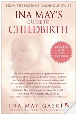 ina may guide to childbirth book