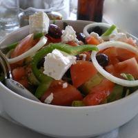 Χωριάτικη Σαλάτα (Ελληνική)