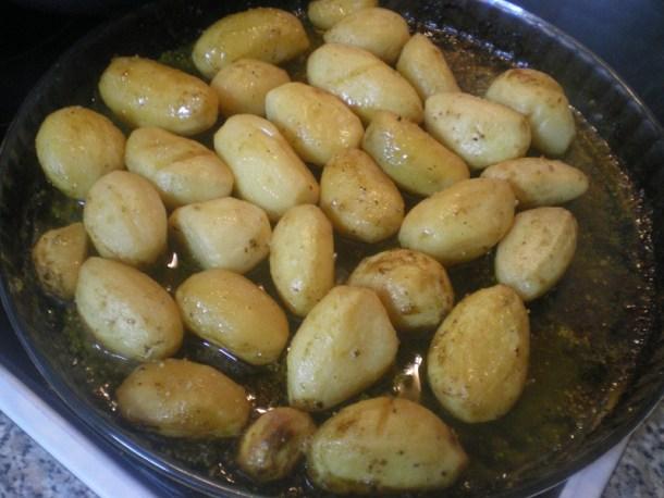 πατάτες λεμονάτες φωτογραφία