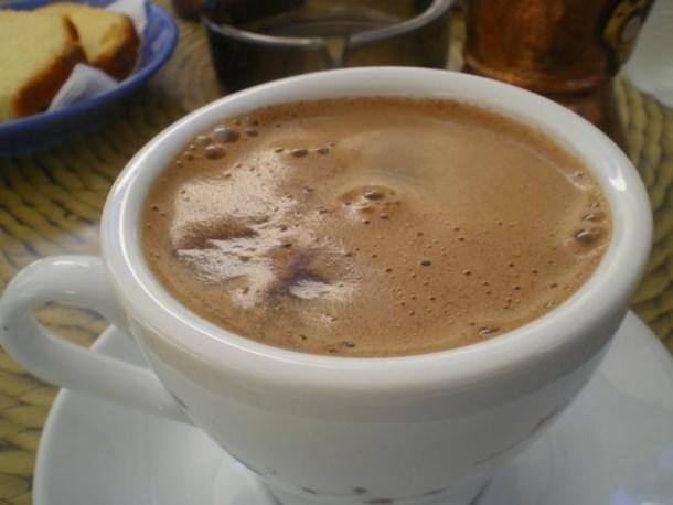 Καφές με καϊμάκι εικόνα