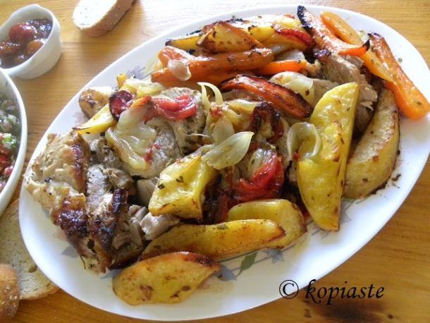 Pork roast psito