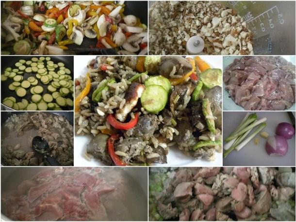 ολάζ συκωτάκια με λαχανικά εικόνα