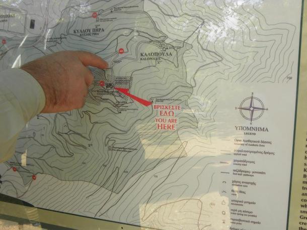 Χάρτης Υμηττού