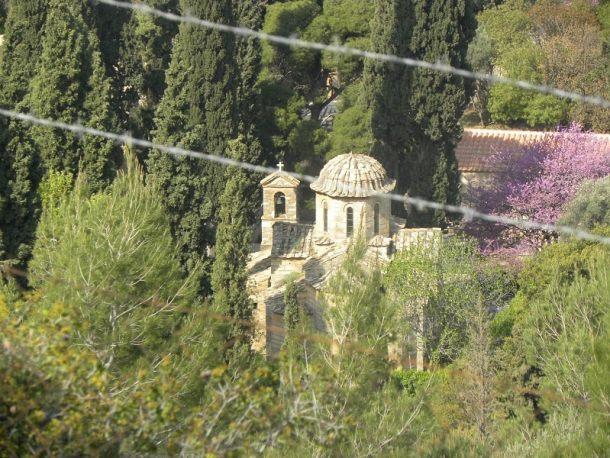Το Βυζαντινό μοναστήρι της Καισαριανής