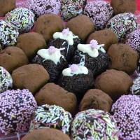 Εύκολες Τρούφες Σοκολάτας από τα Χριστουγεννιάτικα Γλυκά μας