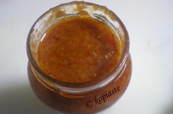 Πικάντικη Σάλτσα Ντομάτας