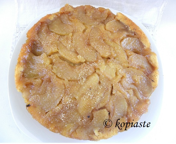 Apple upside down cake2