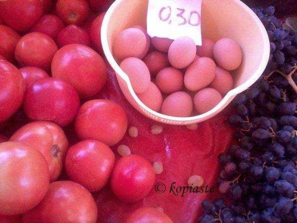 αυγά και ντομάτες εικόνα