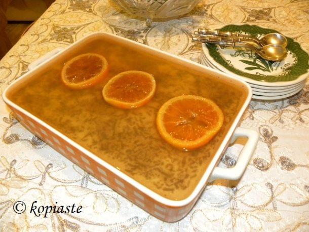 Choco Orange dessert