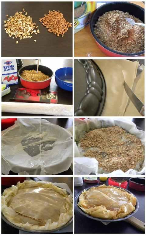 Baklavas collage