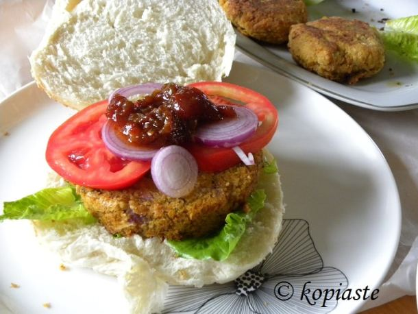 Chickpea and Zucchini Burgers 2