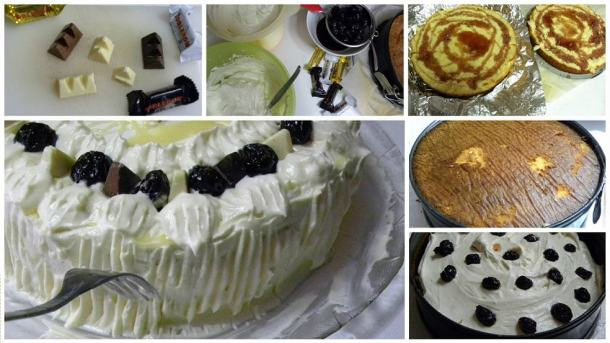 Collage2 Toblerone Cake