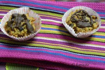 Μάφινς με Φυστικοβούτυρο και Κρεμώδες Τυρί