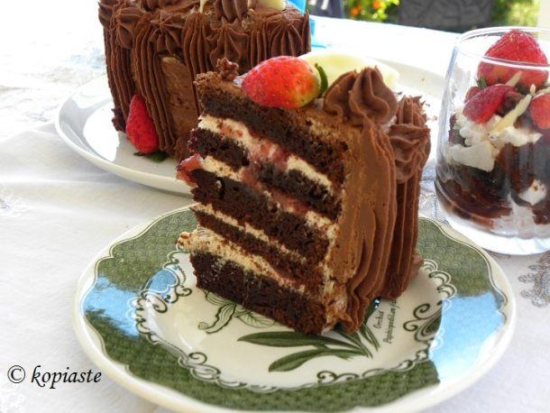 Σοκολατένια τούρτα