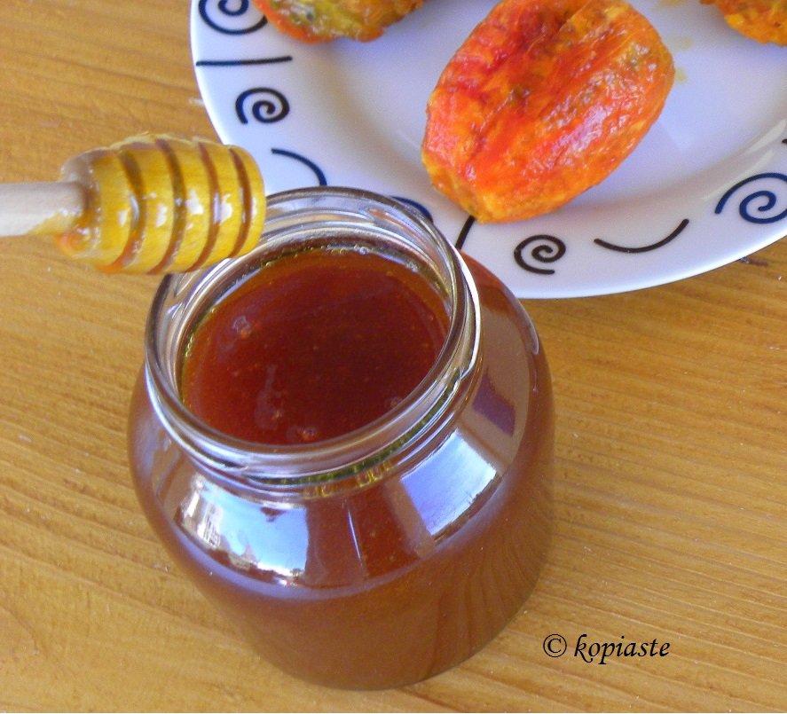 Σιρόπι Φραγκόσυκου με Μέλι