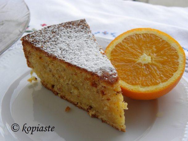 Κέικ Ελαιολάδου με Πορτοκάλι και Κανέλα