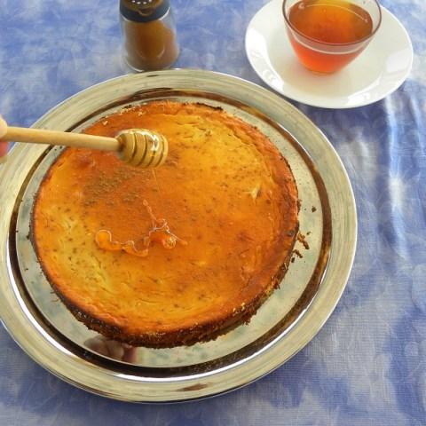 Μελόπιτα Σιφναΐικη με άρωμα πορτοκάλι