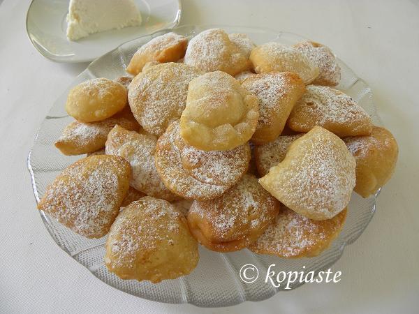 Bourekia and anari small