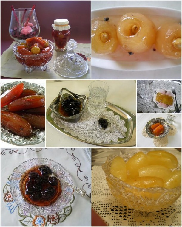 Collage Fruit preserves image