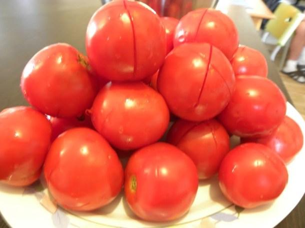 Fresh Tomatoes scored image