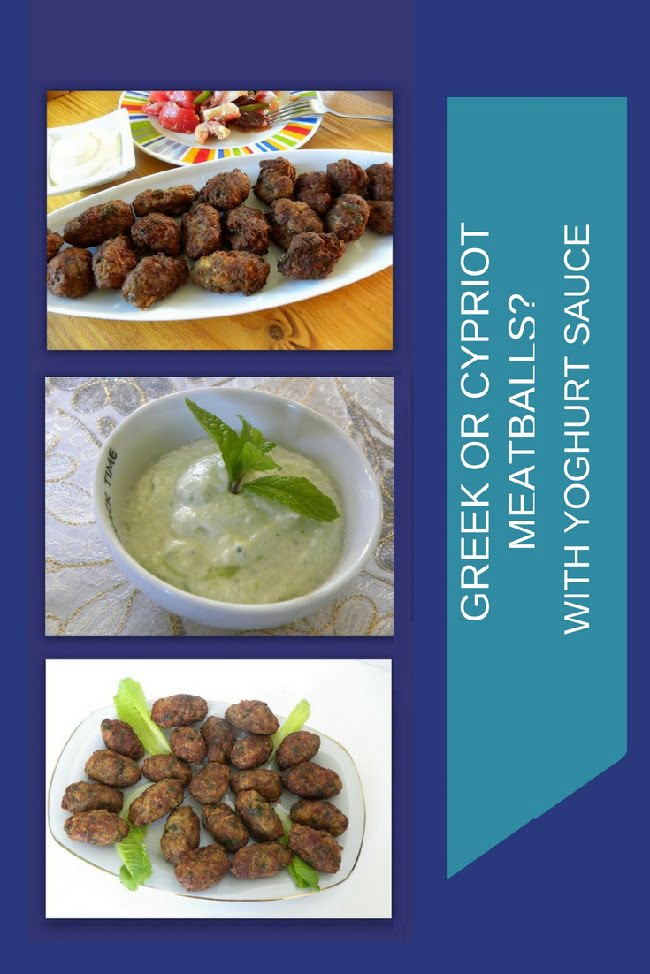 Keftedes (Greek Meatballs)