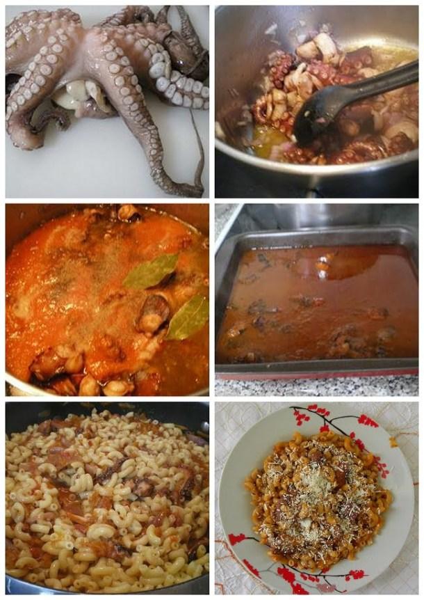 collage octopus with makaronaki kofto image