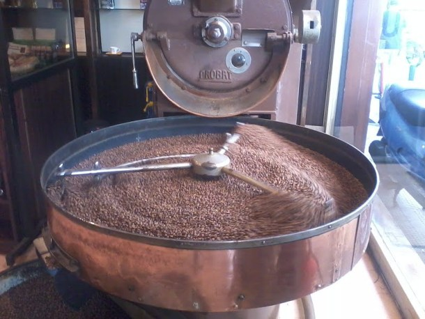 Coffee roasting image