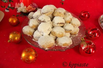 Kourabiedes with ornaments image