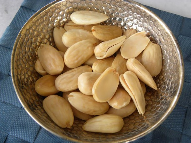 Roasted almonds image