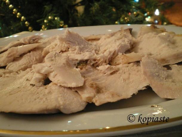 turkey breast slices image