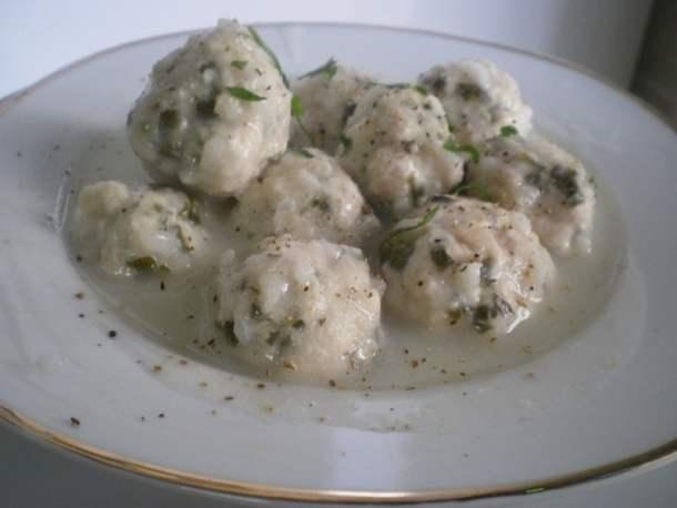 Chicken giouvarlakia avgolemono soup image