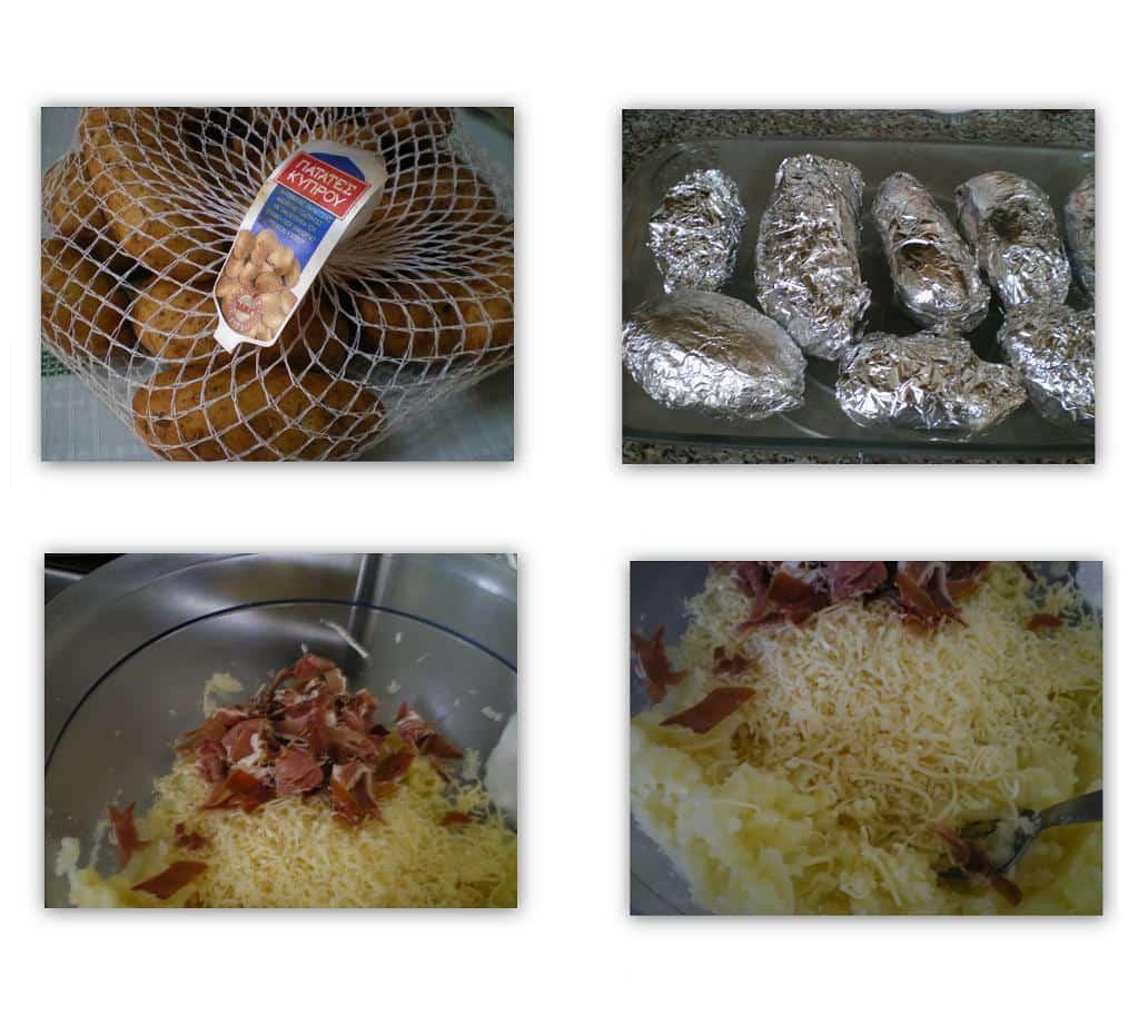 Collage Jacket potatoes