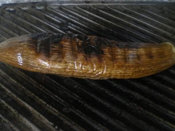 Grilled eggplant image