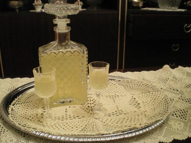 Bergamot liqueur image