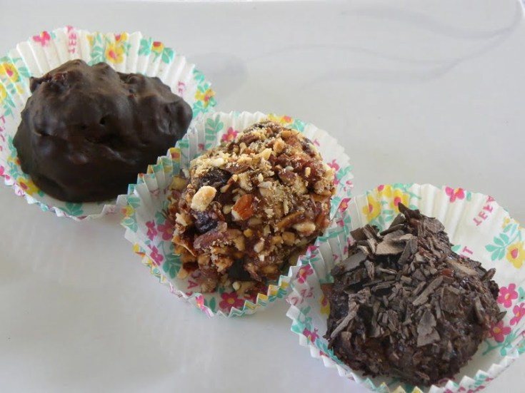 Trouffes (Chocolate Truffles)