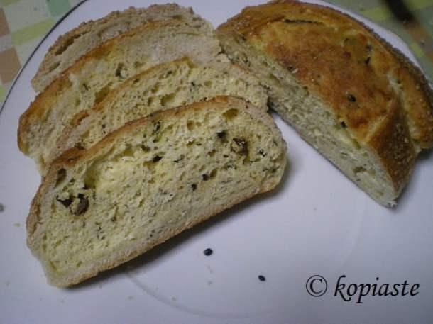 Flaounes with kannavouri image