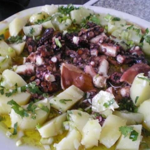 Octopus Salad (Htapodi Salata)