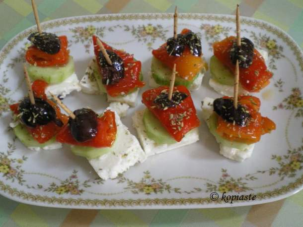 Roasted Red Pepper appetizer